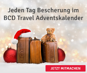 Adventskalender 2018 BCD Travel und United Airlines