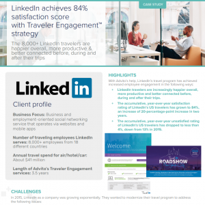 Engaging travelers at LinkedIn